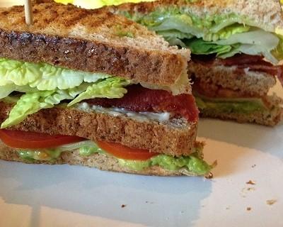 """Avocado """"Club Sandwich"""""""
