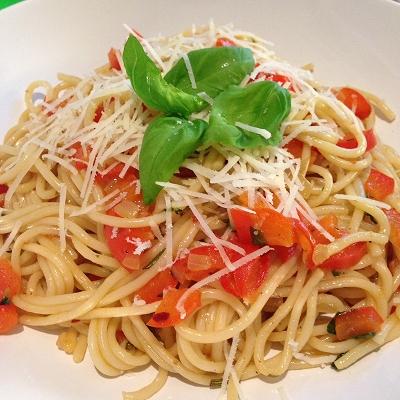 Spaghetti a la Provence (Vegetarisch)