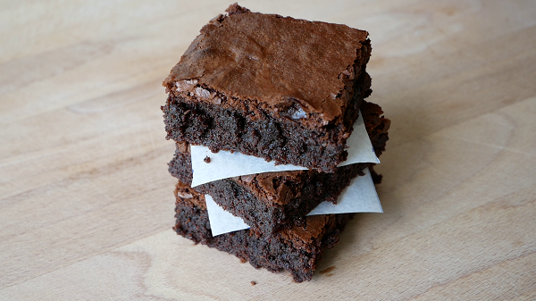 Schokoladen Brownies Backen