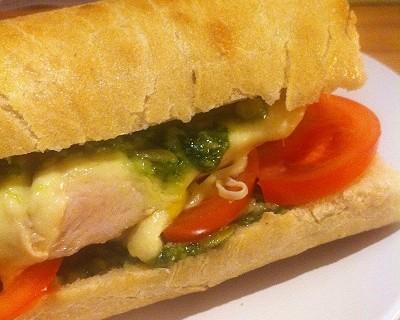 """Chicken Ciabatta Sandwich """"Italia"""""""