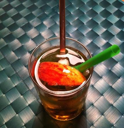 Ginger-Apfel-Drink