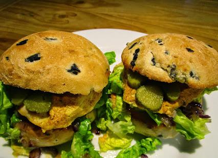Tandoori-Burger