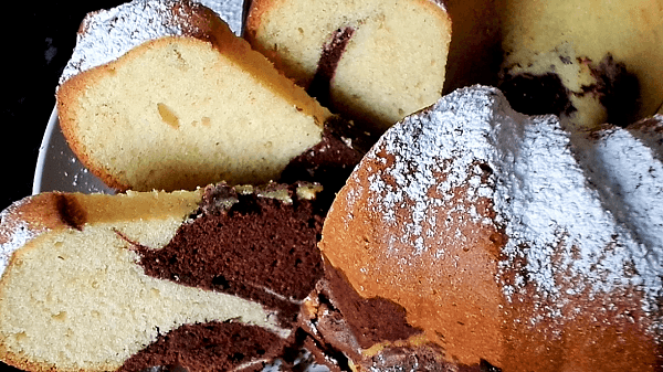 Marmorkuchen backen