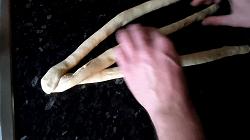 Osterzopf/Hefezopf flechten - Schritt 3
