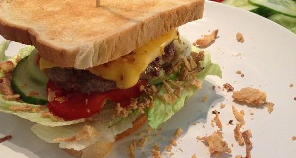 Cheeseburger-Sandwich