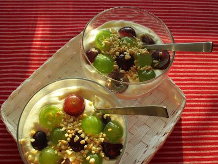 Mascarpone-Trauben-Dessert