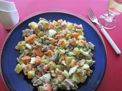 Russischer Salat © Monika Cartwright