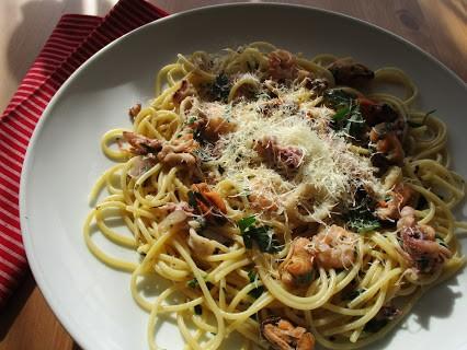 Spaghetti Frutti di Mare © Monika Cartwright