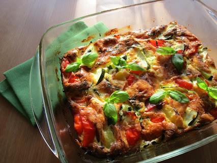 Zucchini-Auflauf © Monika Cartwright