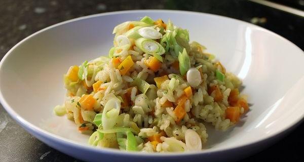 Vegetarisches Gemüserisotto