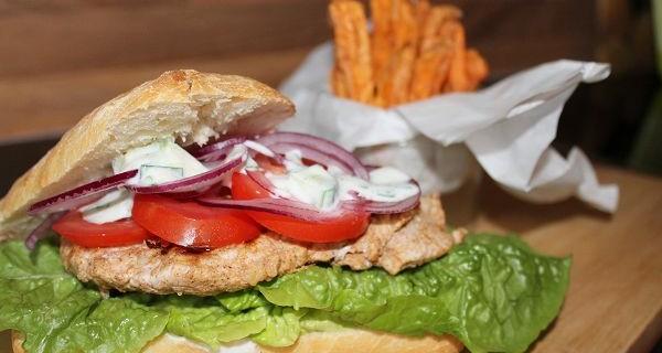 Puten Ciabatta Sandwich 'Tikka Masala'