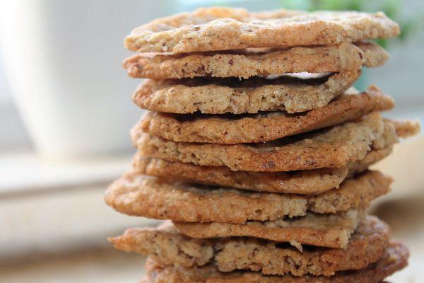 Kernige Haferflocken Cookies