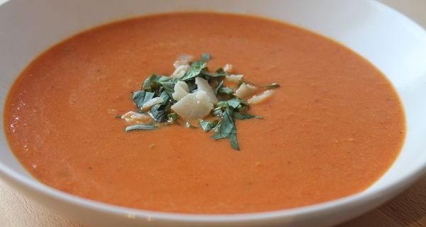 Schnelle & Einfache Tomatensuppe