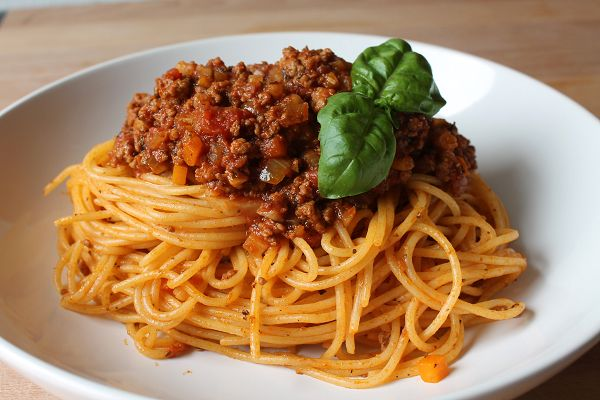 Spaghetti mit Ragù alla Bolognese