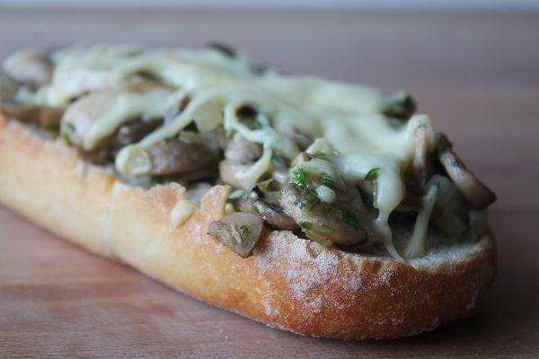 Schnelle champignon baguettes was koche ich heute for Mittagsgerichte schnell