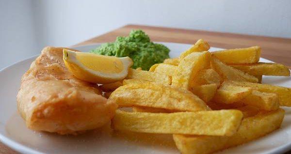 Fish & Chips mit Mushy Peas