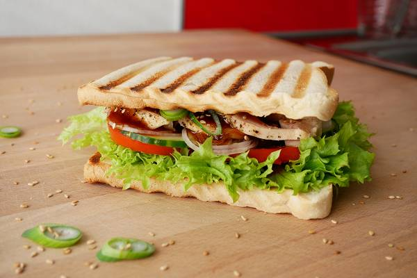 Chicken Teriyaki Toast Sandwich
